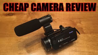 Andex Full HD 1080p Camcorder  Cheap Camera Review