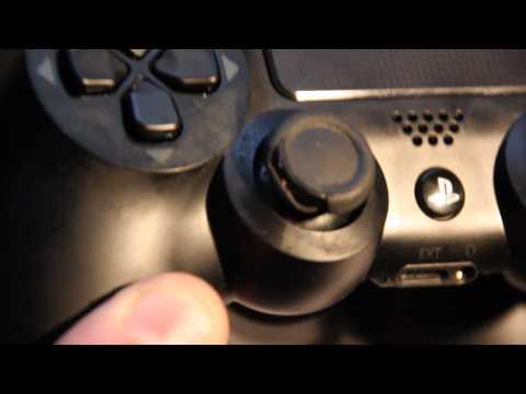 PS4 Dualshock 4 controller problems - Peeling rubber on analog / broken R2 trigger