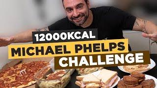 Michael Phelps 12,000 Calorie Challenge!!!