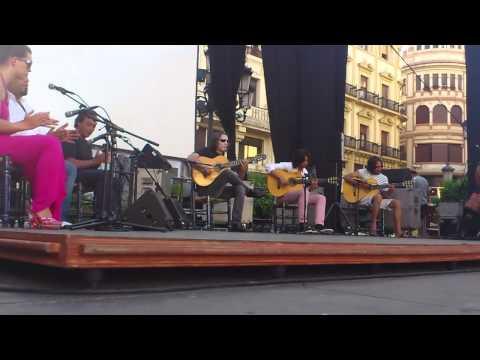 Prueba de sonido Tomatito Noche Blanca del Flamenco Cordoba