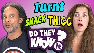 DO PARENTS KNOW TEEN SLANG? #3 (REACT: Do They Know It?)