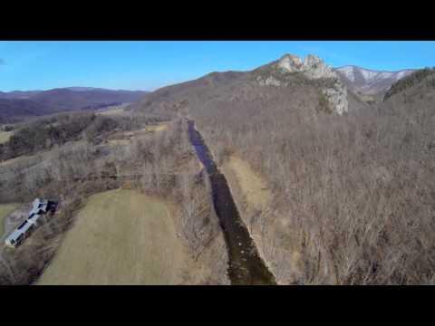 Flying Over West Virginia