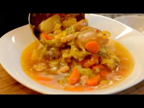 Суп фасолевый в мультиварке редмонд рецепт с фото пошагово