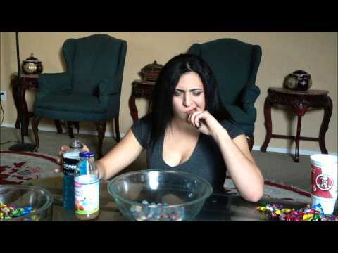 GIRL VS 100 WARHEAD CHALLENGE (BLOOD ALERT)