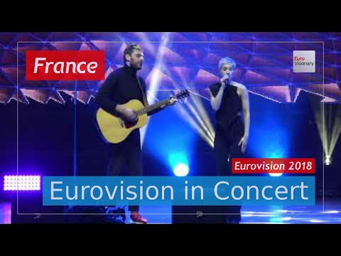 France Eurovision 2018 Live: Madame (SuRie) Monsieur - Mercy - Eurovision in Concert