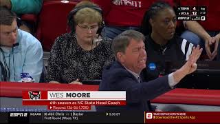 2019.03.23 Maine Black Bears (14) at NC State Wolfpack (3) Women's Basketball (NCAAT)