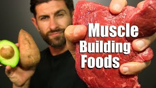10 BEST Foods To Add MUSCLE Mass FAST!