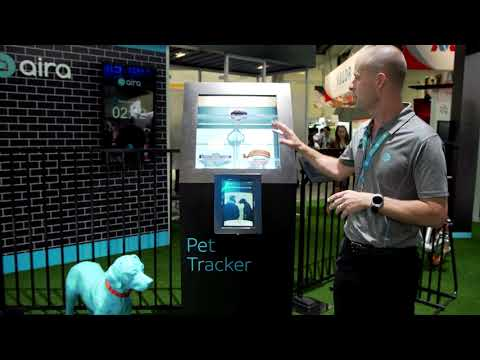 #MWCA: AT&T demonstration of Pet Tracker system