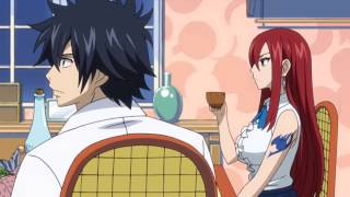 Fairy Tail: Natsu, Gray, and Erza enter Lucy's home English Dubbed