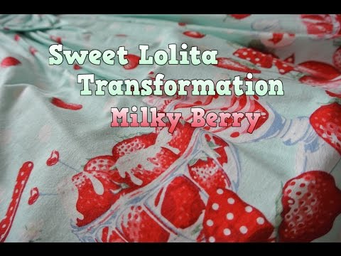 My Sweet Lolita Transformation - Milky Berry