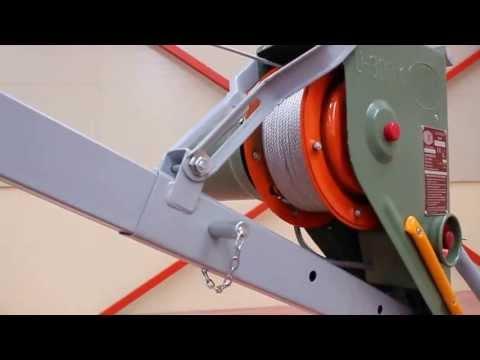 Elevador el ctrico de cable presentaci n modelo u200 k - Material de construccion segunda mano ...