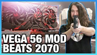 Beating the RTX 2070 with Vega 56 Mods | Unlimited Power