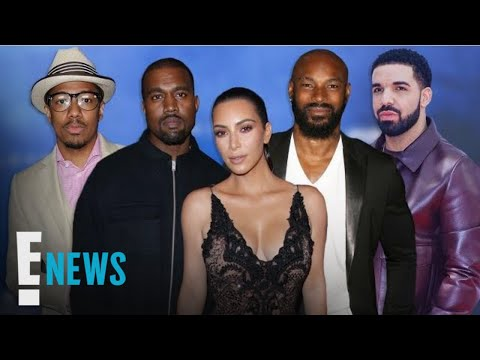 Kanye West Warns 3 Celebs to Stop Talking About Wife Kim K. | E! News