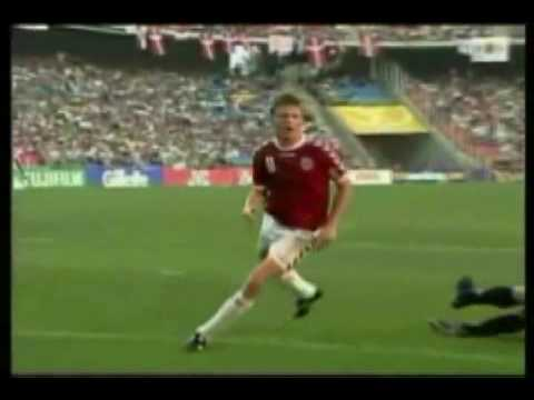 Danish World Cup goals 1986, 1998 and 2002. Denmark vs.: (1986) Scotland 1 - 0 Uruguay 6 - 1 Germany 2 - 0 Spain 1 - 5 (1998) Saudi Arabia 1 - 0 South Africa 1 - 1 France 1 - 2 Nigeria 4 -...