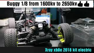 هواية السيارات اللاسلكية.. Rc car buggy 1/8 electric