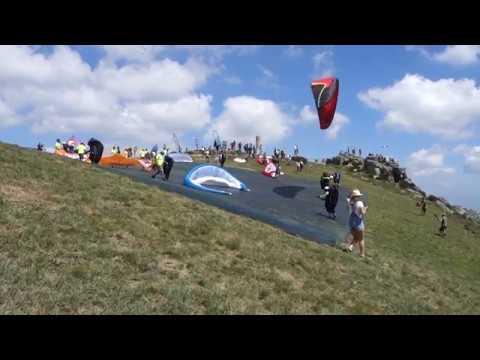 Take Offs - European Paragliding Championship 2018 - Montalegre