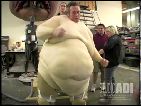 Blob Mechanical Suit Test (Creating Movement) for X-Men Origins: Wolverine