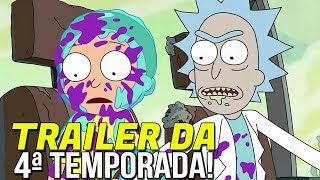 RICK AND MORTY | TRAILER DA 4ª TEMPORADA!! | ANÁLISE!