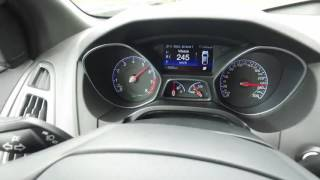 0-273 km/h : new Ford Focus RS Mk3 - Acceleration Top Speed