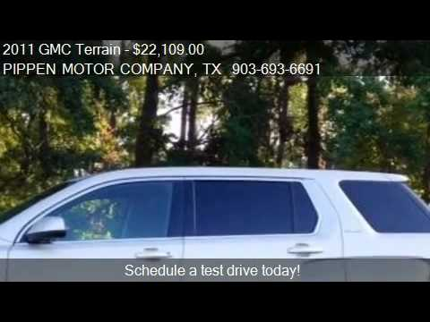 2011 GMC Terrain SLE-1 for sale in Carthage, TX 75633 at PIP
