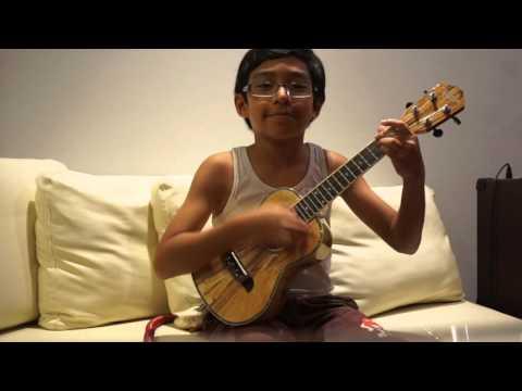 Evan's Ukulele - Viva La Vida (cover)