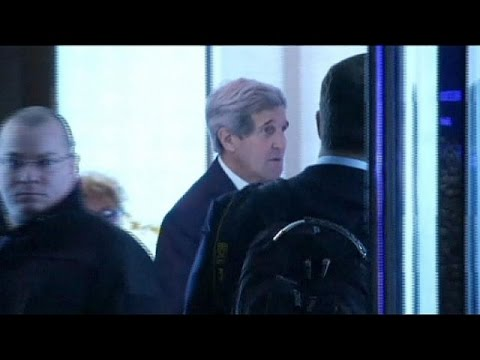 Kerry arrives in Geneva for new Iran nuclear talks