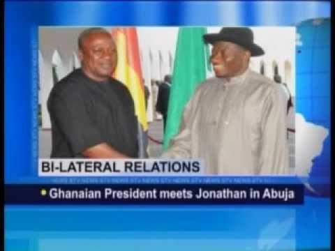 Ghanaian President Meets Jonathan in Abuja