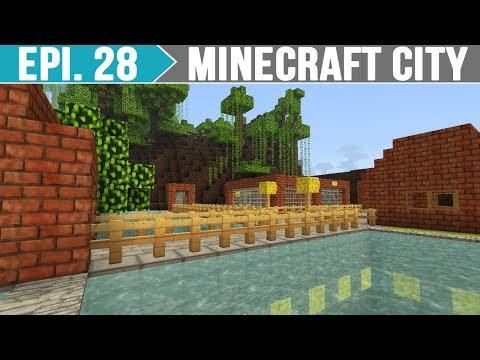 Minecraft City - Zoológico da Cidade