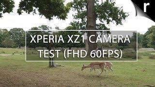 Sony Xperia XZ1 camera sample: Full HD video (60FPS)