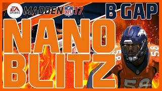 Madden 17: UNSLIDABLE 5 Man B-Gap! 46 Normal - Cover 2 Invert! Fast/Easy Blitz Nano Blitz!