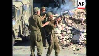 WEST BANK: PALESTINIAN PROTESTORS CLASH WITH ISRAELI SOLDIERS (2)