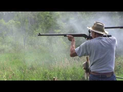 Black Powder Match - Sharps 1874 - Shiloh