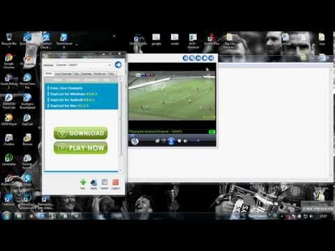 วิธีดูบอลออนไลน์ผ่าน Sopcast