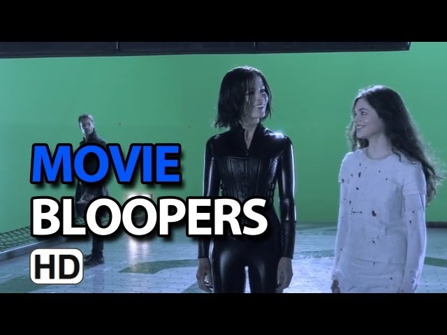 Underworld: Awakening (2012) Bloopers Gag Reel