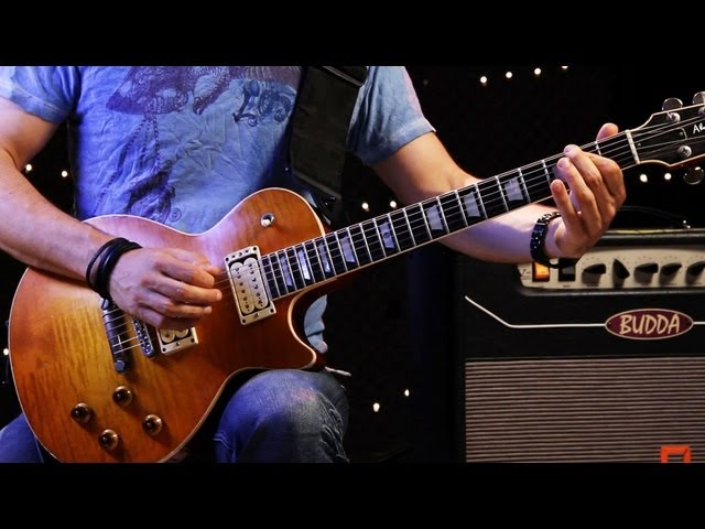 How to Play Power Chord Riffs | Heavy Metal Guitar Lessons