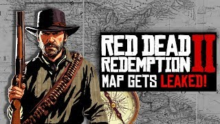 Red Dead Redemption 2 - ENTIRE MAP GOT LEAKED, IS MEXICO RETURNING? *HUGE MAP AREA*