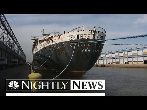 Desperate Pleas to Save Iconic SS United States From the Scrap Pile   NBC Nightly News