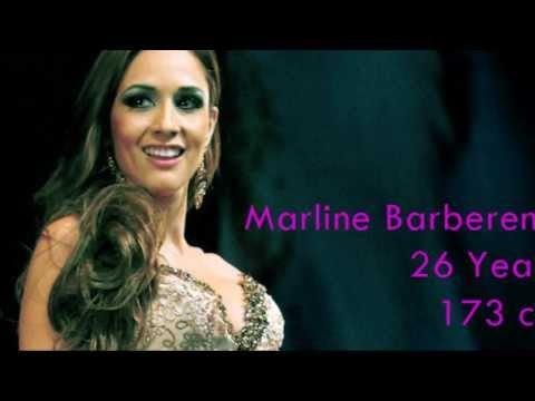 Marline Barberena es Miss Nicaragua Universe 2014