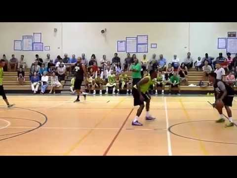 Hawaii Basketball Summer League - Clark Hatch vs Grantco  1st Half  7-17-14