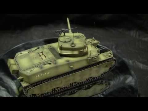 1/35th scale Dragon US WWII M6 Heavy tank