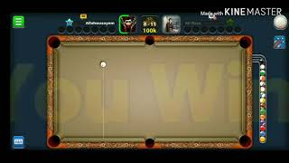 Baby boss trick shot kiss shot Walid vs Wasayo YT 8bp