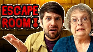 ESCAPE ROOM CHALLENGE w/ My Mom