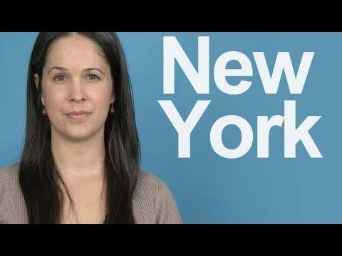 How to Pronounce NEW YORK – American English Pronunciation