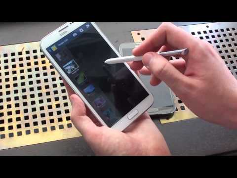 Samsung Galaxy Note 2 hands-on