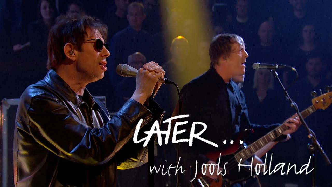 "Echo & The Bunnymen - 「Later… with Jools Holland」にて新曲""The Somnambulist""など2曲を披露 ライブ映像を公開 thm Music info Clip"