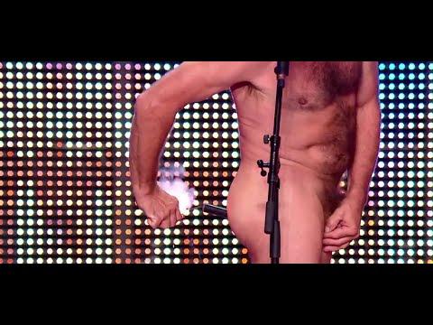 Chris Lynam Gets A Firecracker In The Ass - France's Got Talent 2014 Audition - Week 3 video