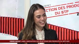 Élection des Produits du BTP 2021 - CEDEO BOOST