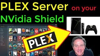 🔴 PLEX SERVER running on your Nvidia Shield - How to get it installed