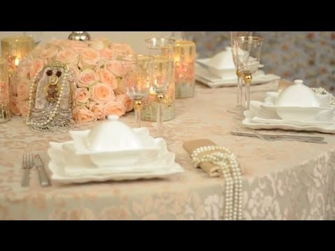 DIY Vintage-Style Wedding Ideas : Decorating for Events