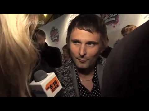 Muse - Matt Bellamy attempting to speak German